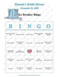 wedding words for bingo bridal shower breaker bingo