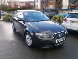 2007 audi a3 1 6 special edition manual 3 door black 12 months mot