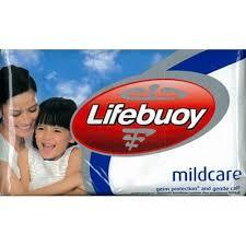 Sabun Lifebuoy lifebuoy bar mild care 85 gram
