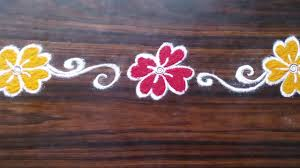 1 simple door rangoli for diwali unique rangoli designs youtube