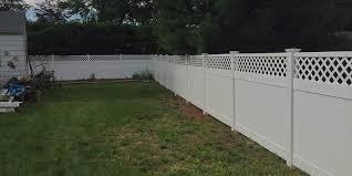 vinyl fence installation manchester ct vinyl fence installation