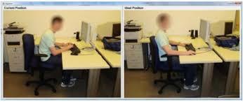 postura corretta scrivania una per trovare la postura ergonomicamente corretta