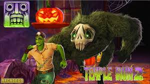 temple run 2 halloween spooky summit map new monster characters
