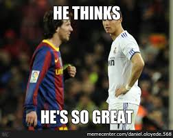Messi Meme - ronaldo messi meme by daniel oloyede 568 meme center