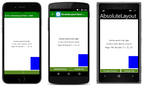 xamarin activity layout absolutelayout xamarin microsoft docs