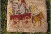 Primitive Hooked Rugs Free Latch Hook Rug Patterns Download Rugs Home Decorating