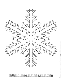 winter snowflake coloring u0026 coloring pages