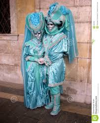 venetian carnival costumes for sale venice carnival in turquoise costumes stock image image