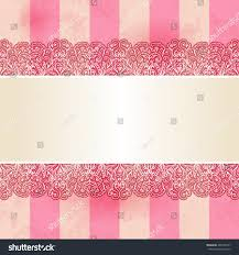 seamless lacy vintage ornamental ribbon on stock illustration