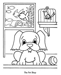 pets coloring page 381959