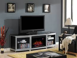 stylish electric fireplace tv stand image of clipgoo