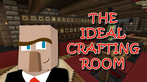build the ideal crafting and storage room a minecraft how to