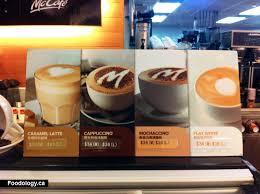Coffee Mcd mcdonalds macau iced drinks at the venetian foodology