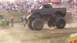 monster truck mud bogging videos mud truck jump swamp donkey carnage video dailymotion