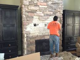 home decor view mounting tv on brick fireplace home design