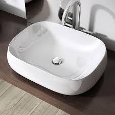 design aufsatzwaschbecken die aufsatzwaschschale brüssel5105 hat abgerundete ecken