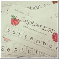 12 free months of the year handwriting worksheets discover more