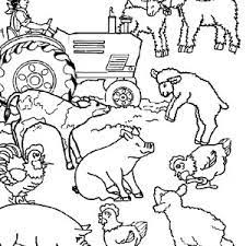 farm animals colouring pages google kinder speeletjies