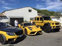 G Wagon 6x6 Interior Yellow Mansory Ferrari F12 Stallone And Mercedes G63 Amg 6x6