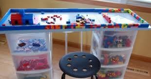diy folding train table table 14 diy ideas for your kids playroom