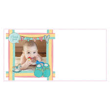 baby thank you cards personalised new baby thank you cards pack of six by palace