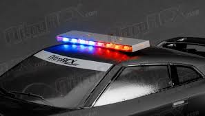 police led light bar 1 10 scale led police light bar