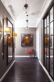 hallway furniture lights for hallway and dark wood laminate