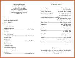 wedding program layouts wedding 20 tremendous wedding program sle catholic wedding