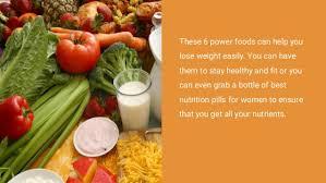 6 best power foods for women