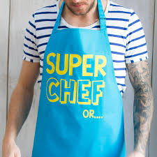 reversible super dad apron and cape by squiffy print