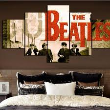 Art Decoration For Home 2017 New Canvas Art The Beatles Street Canvas Painting Wall Art