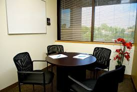 Conference Room Design Ideas Small Office Meeting Room Design With Rounded Dark Brown Wooden