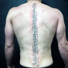 91 best spine tattoos designs and ideas collections golfian com