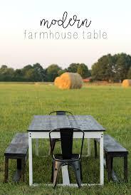 How To Build A Farmhouse Table How To Build A Modern Diy Farmhouse Table Life Storage Blog