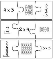 how to teach arrays arrays puzzles centers worksheets small