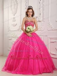 dresses for a quinceanera beaded bodice sweetheart dresses for a quinceanera in hot pink