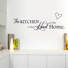 Decorative Hearts For The Home Aliexpress Com Buy The Kitchen Is The Heart Of The Home English