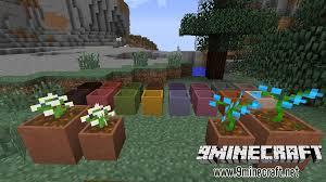 Minecraft Decoration Mod Garden Stuff Mod 1 12 1 7 10 Flower Arrangements 9minecraft Net