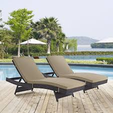 outdoor patio furniture adjustable water resistant pair of chaise