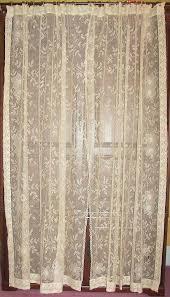 Lace Trim Curtains Vintage Lace Curtains Photogiraffe Me