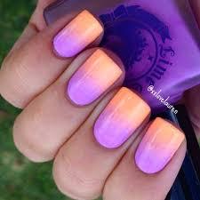 summer sunset ombre nail art by xxlovelauren using lime crime