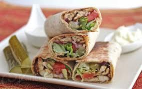 arabic wrap spiced shawarma chicken wraps recipe an edible mosaic