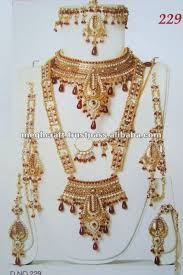 bridal indian necklace set images Bridal jewellery set indian bridal jewelry set indian polki JPG