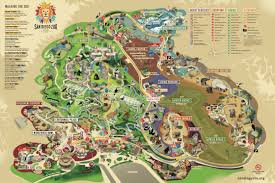 San Diego Airport Map San Diego Zoo Map Missouri Map