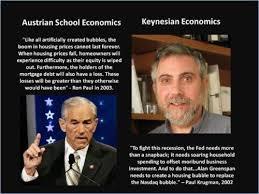 Ron Paul Memes - krugman vs ron paul meme image