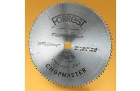 forrest table saw blades forrest signature line chopmaster saw blade