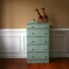 sale cij shabby chic chest of drawers pastel wooden vintage