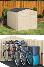 Suncast Resin Glidetop Outdoor Storage Shed by 30 Best Outdoor Horizontal Storage Sheds Images On Pinterest
