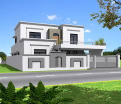 long front pillar home design modern house front elevation