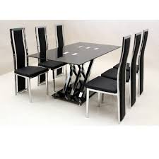glass dining room chairs round dining table set for 4 round table